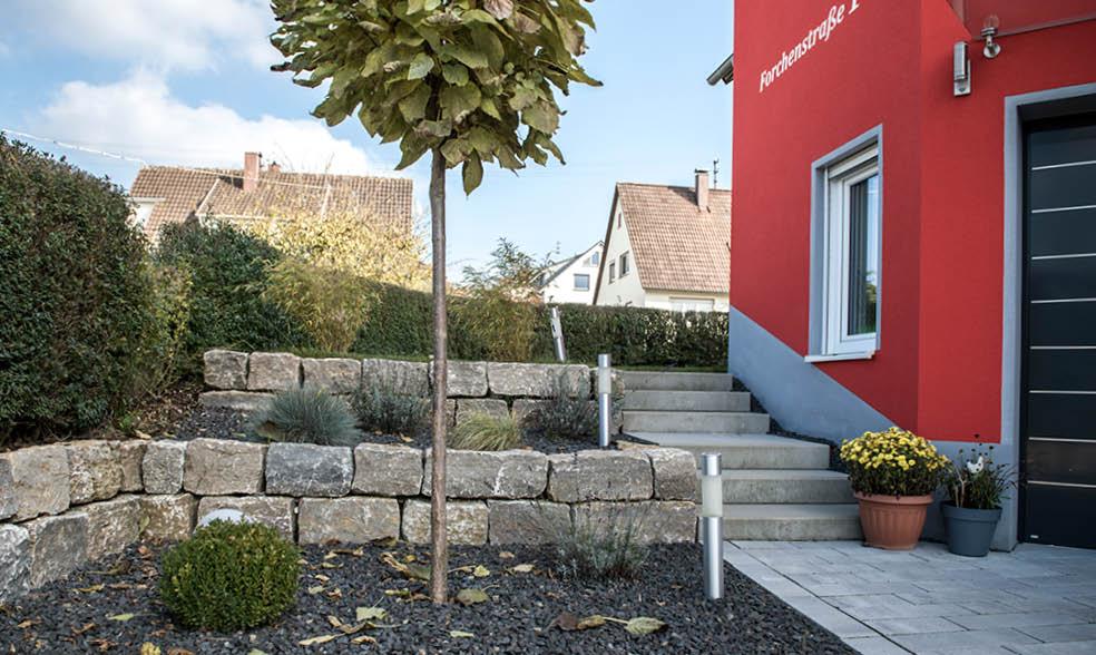 Marlok bader garten und landschaftsbau vorgarten mit - Vorgarten hochbeet ...